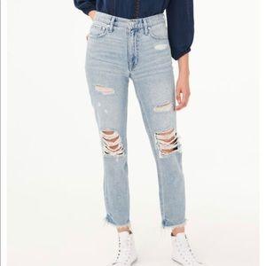 Aero mom jeans